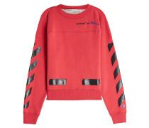 X Champion Sweatshirt aus Baumwolle mit Print
