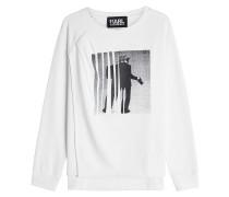 Bedrucktes Sweatshirt Karl the Photographer aus Baumwolle
