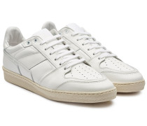 Sneakers Low Top Trainers aus Leder