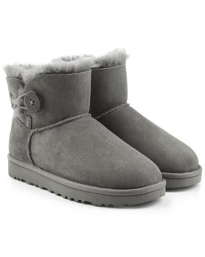 Veloursleder-Boots Bailey Button