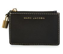 Kleines Portemonnaie aus Leder mit Zipper