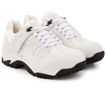 Sneakers Security mit Veloursleder und Mesh