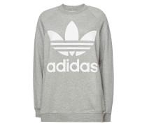 Bedrucktes Oversize-Sweatshirt aus Baumwolle