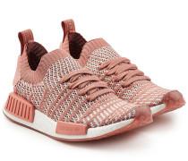 Gewebte Sneakers NMD_RQ mit Mesh