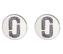 Ohrringe mit Logo-Anhänger