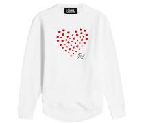 Sweatshirt Karl Love aus Baumwolle
