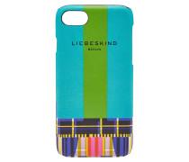 Case für das iPhone 7/8 aus bedrucktem Leder