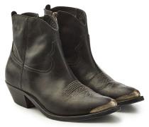 Verzierte Cowboy Boots Young aus Leder