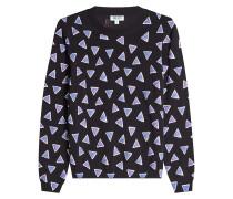 Bedruckter Pullover aus Baumwolle