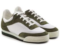 Sneakers Spalwart aus Mesh und Veloursleder