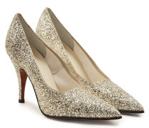Stiletto-Pumps Dorothy mit Glitter-Finish