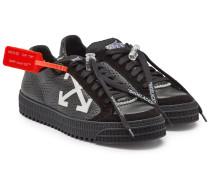 Sneakers 3.0 Polo aus Leder und Veloursleder