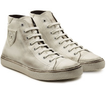 High Top Sneakers Bedford aus Leder