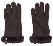 Handschuhe Tenny aus Veloursleder und Lammfell