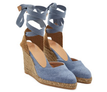 Wedge-Sandalen Joyce 80 mit Denim