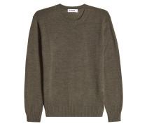 Strickpullover aus Wolle