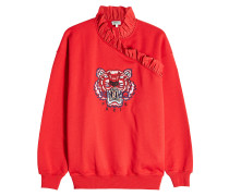 Logo-Sweatshirt Tiger Ruffle