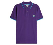 Besticktes Poloshirt aus Baumwolle