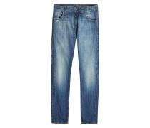7 Moncler Fragment Hiroshi Fujiwara Straight Leg Jeans im Used Look