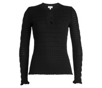 Strukturierter Pullover mit Cut Outs