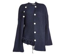 Asymmetrischer Pullover aus Wolle