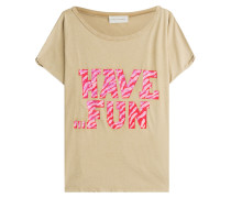 Oversize-Shirt aus Baumwolle mit Print