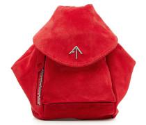 Tasche Mini Fernweh aus Veloursleder