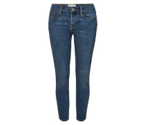 Verzierte Cropped Skinny Jeans The Caballo Stiletto