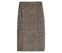 Gemusterter Pencilskirt aus Tweed