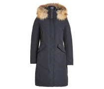 Daunenparka Luxury Long mit Fellkragen
