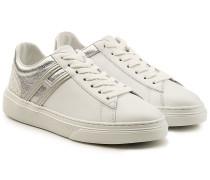 Sneakers mit Glitzer-Elementen
