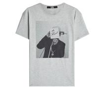 Bedrucktes T-Shirt Karl the Photographer aus Baumwolle