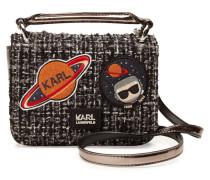 Schultertasche K/Space aus Tweed