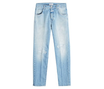 Cropped Straight Leg Jeans Heartbreaker