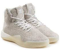 High Top Sneakers Tubular Instinct Boost aus Veloursleder