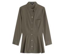 Schößchen-Bluse aus Baumwolle