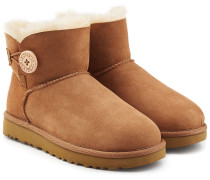 Veloursleder-Boots Bailey Button