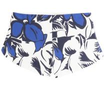 Krepp-Shorts mit Print