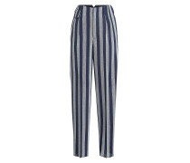 Gemusterte Pants Sally aus Fleece-Wolle