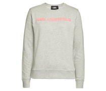 Verziertes Logo-Sweatshirt Neon Lights aus Baumwolle