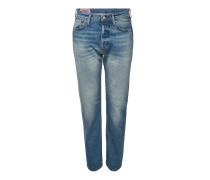 Straight Leg Jeans 1996 Mid Blue Trash