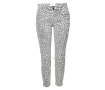 Cropped High Waist Skinny Jeans The Stiletto
