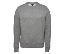 Sweatshirt Jefferson aus Baumwolle mit Ziernähten