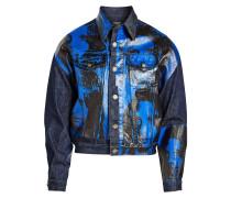 X Andy Warhol Bedruckte Jeansjacke aus Baumwolle