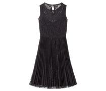 Flared-Dress aus Spitze