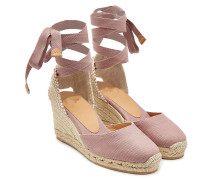 Wedge-Espadrilles Carina 60 aus Canvas