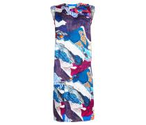 Ärmelloses Kleid mit Pop-Art-Print