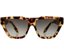 Eckige Cat-Eye-Sonnenbrille