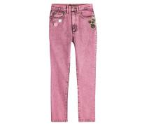 Skinny Jeans mit Décor
