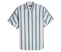 Gestreiftes Hemd aus Baumwolle
